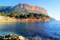 Французская Ривьера: горы и солнце